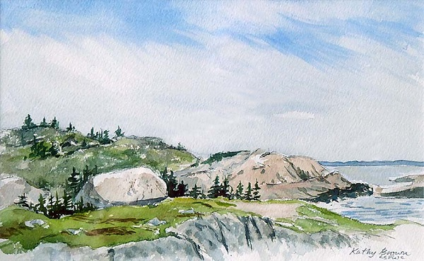 Granite Coast by Kathy Brown